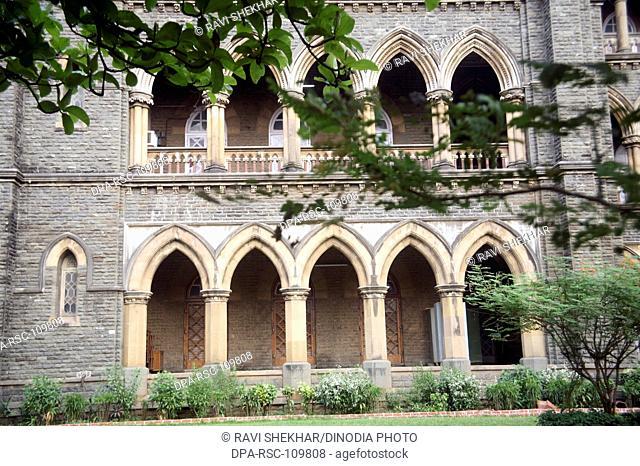 Mumbai high court Building ; Mambas Bombay ; Maharashtra ; India