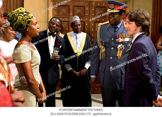 RELEASE DATE: September 1, 2006. MOVIE TITLE: The Last King of Scotland. STUDIO: FOX Searchlight Pictures. PLOT: Based on the events of the brutal Ugandan...