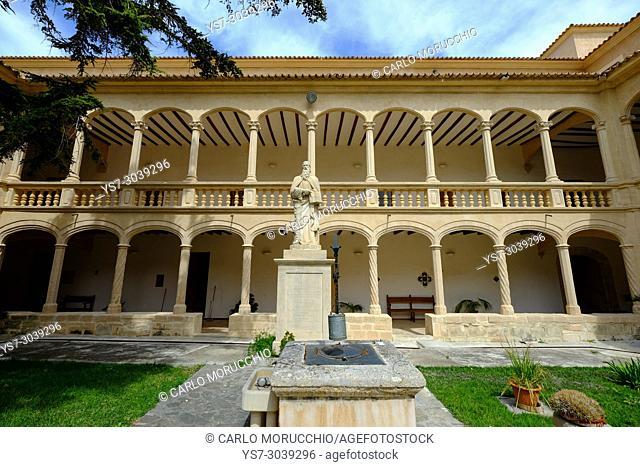 Monastery of Santa Maria la Real, Majorca, Balearic Islands, Spain