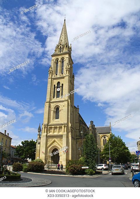 Notre Dame de Bergerac Church, Bergerac, Dordogne Department, Nouvelle Aquitaine, France