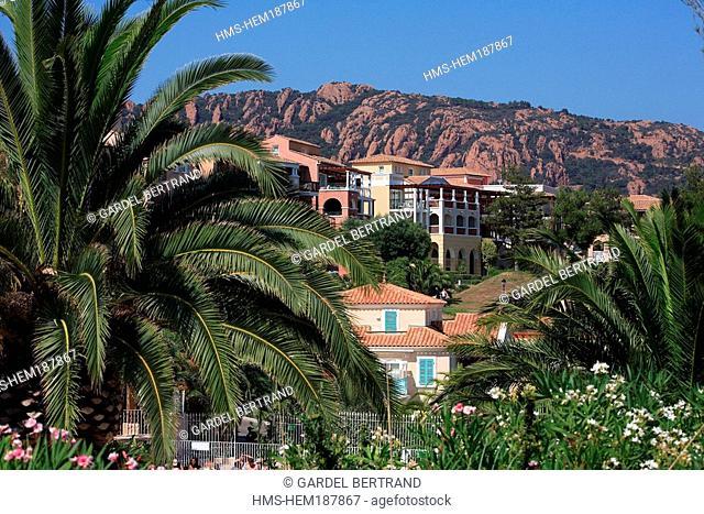 France, Var, Esterel Corniche, Agay village, Pierre et Vacances Cap Esterel Residence