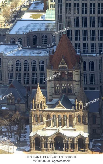 Trinity Church, Back Bay, Boston, Massachusetts, United States