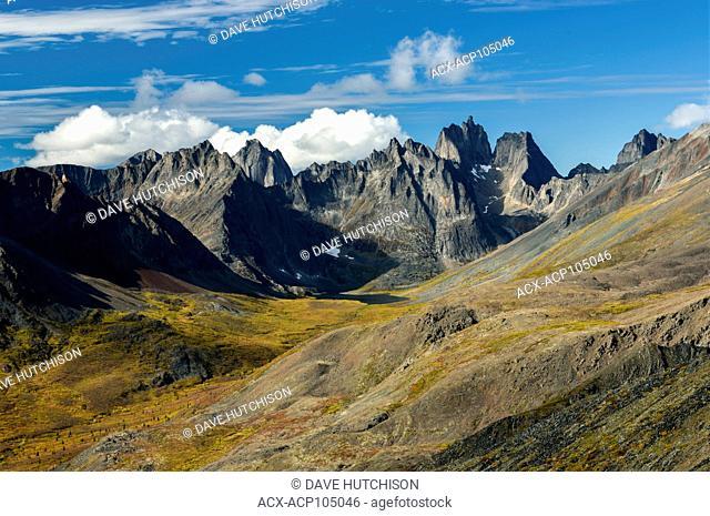 Tombstone Range, Tombstone Territorial Park, Yukon, Canada