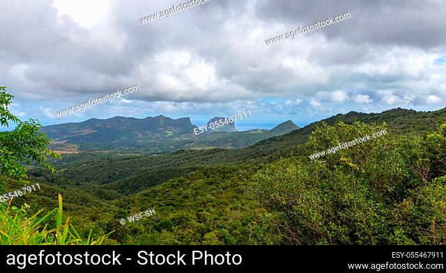mauritius, plaine champagne, black river georges national park