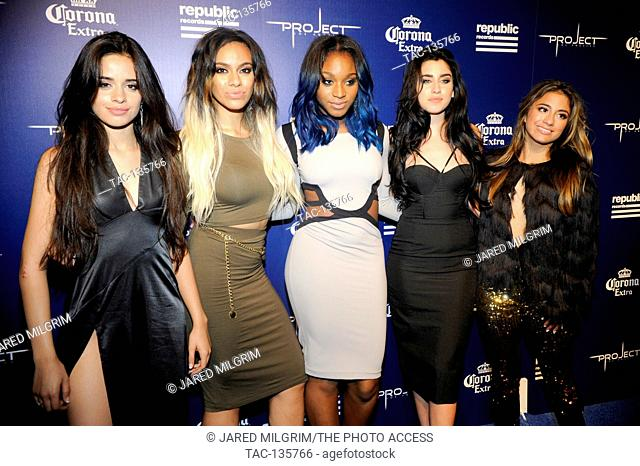 Girl group Fifth Harmony attend the Republic Records Official MTV VMA After-Party at Project LA on August 24, 2014 in Los Angeles, California
