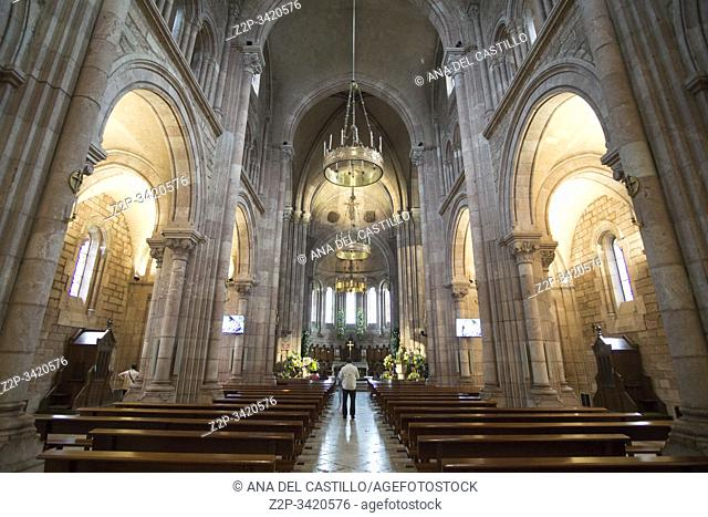 Basilica of Our Lady of Battles, Covadonga, Asturias, Spain on September 9, 2019