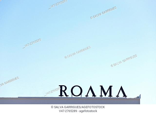 Poster of the city of Rome, Italy, Europe