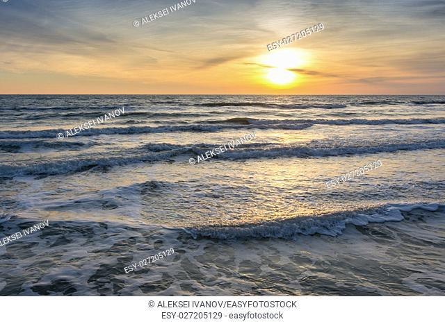 sunset Sea View, Black Sea, Anapa, Russia