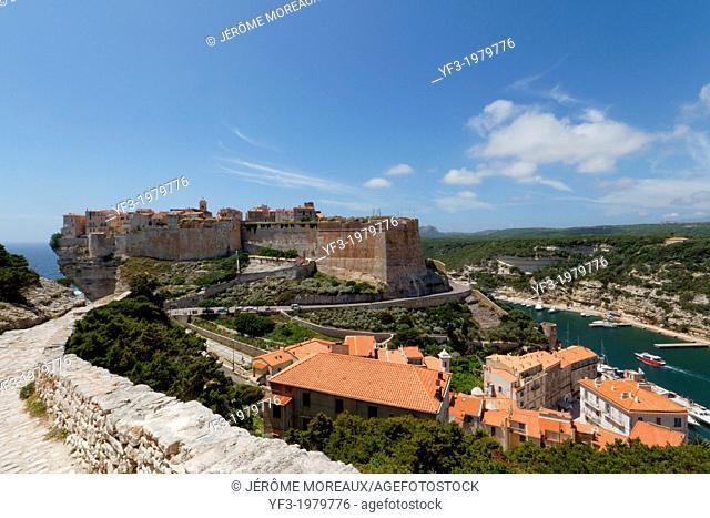 France, Corsica, Corse-du-Sud Department, Corsica South Coast Region, Bonifacio