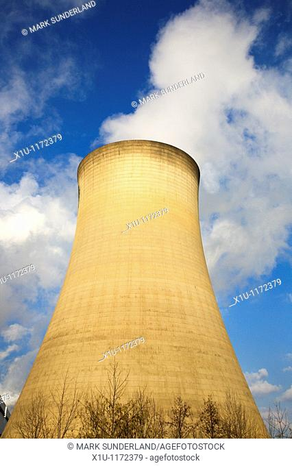 Cooling Tower Drax North Yorkshire England