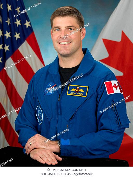 Jeremy Hansen, Canadian Space Agency astronaut candidate class of 2009