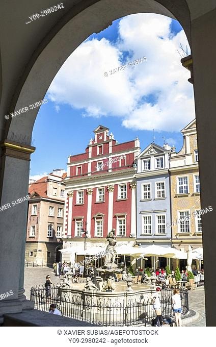 Old Town Square, Poznan, Poland