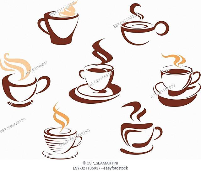 Coffee and tea cups