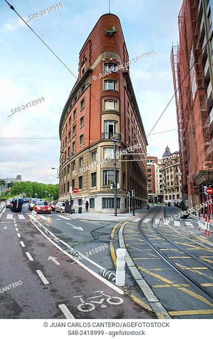 Ciudad de Bilbao. Vizcaya. Basque Country. España. Europa