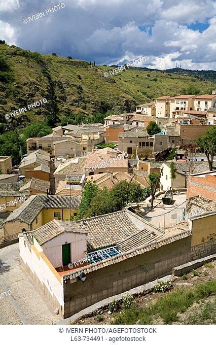 Tajo riverside, Toledo. Castilla-La Mancha, Spain