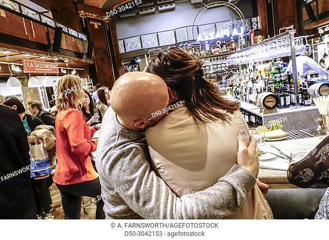 New Eatily Italian deli restaurant food court. Stockholm, Sweden