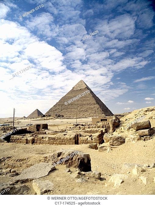 Pyramids. Giza. Egypt