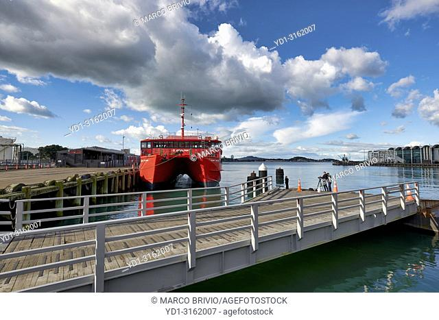 The pier in Auckland New Zealand
