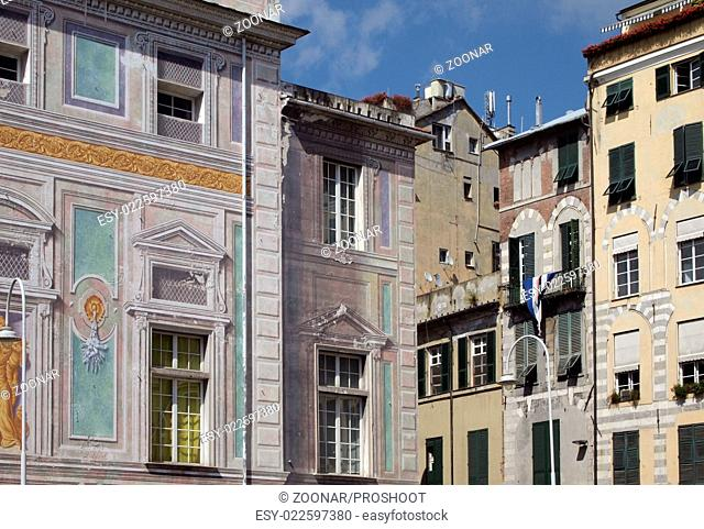 historic buildings in Genoa