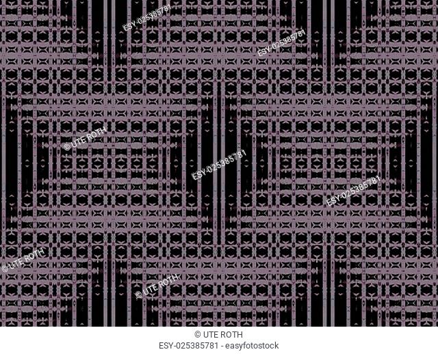 Abstract geometric background, seamless modern square pattern