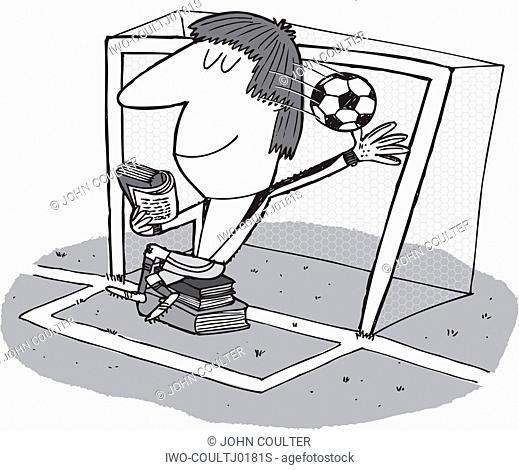 Lazy Goalie