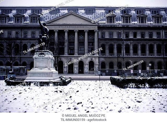 Bucharest University 1859-1864, formerly St Sabba Academy from 1694 Bucharest Romania