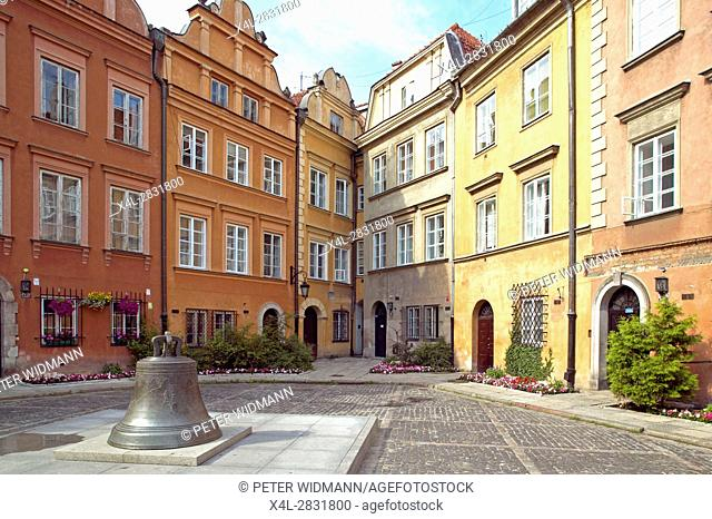 Old Town of Warsaw, Poland, Europe