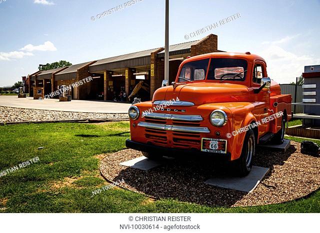 Route 66 Museum, Historic Route 66, Clinton, Oklahoma, USA