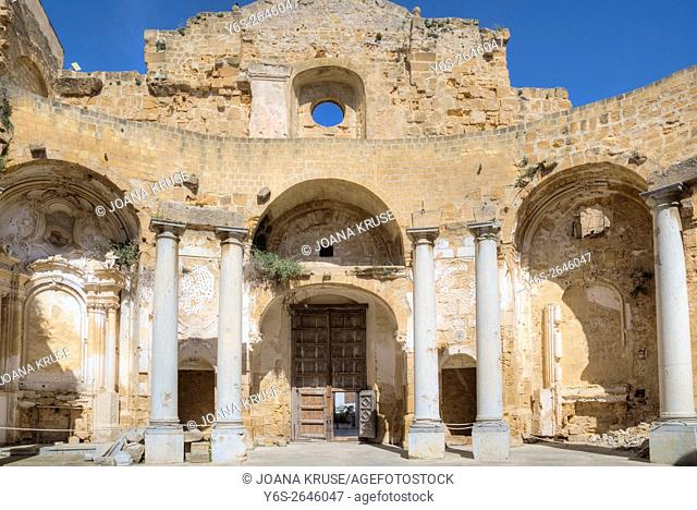Mazara del Vallo, Church of Sant' Ignazio, Sicily, Italy
