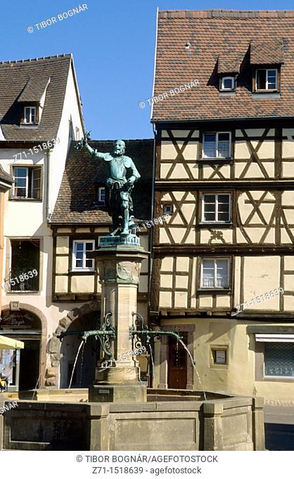 France Colmar Place de l Ancienne Douane, Alsace