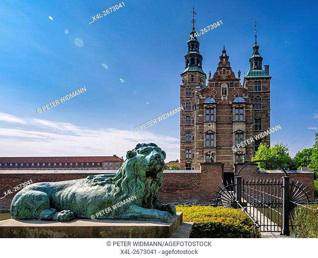 Rosenborg Castle, Rosenborg Slot, Copenhagen, Capital Region of Denmark, Denmark, Europe