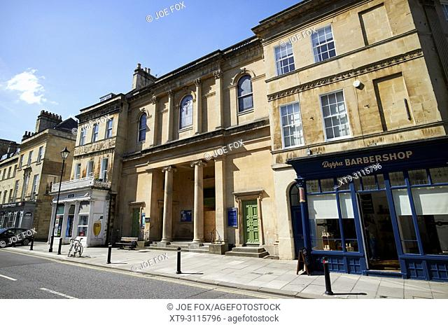 Bath central united reformed church in the argyle street chapel England UK