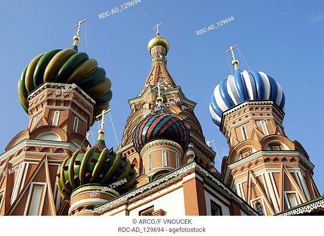 St Basil's Cathedral Red Square Moscow Russia