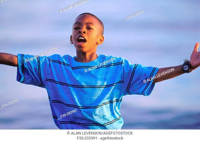 Boy in Malibu