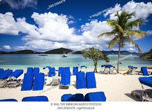 U. S. Virgin Islands, St. Thomas, Great Bay, The Ritz Carlton St. Thomas, beach