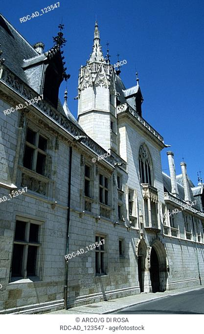 Palace of Jacques Coeur Bourges Centre France Loire valley