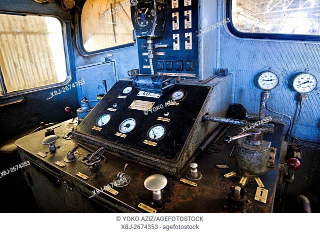 Mechanical workshop, Eritrean railways, From Asmara to Massawa, Eritrea