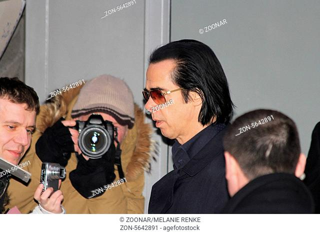 Nick Cave visits the Berlin Film Festival