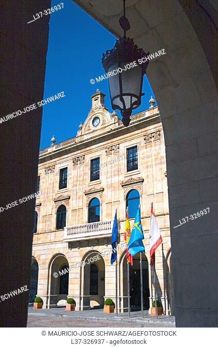 City Hall. Gijón. Asturias, Spain