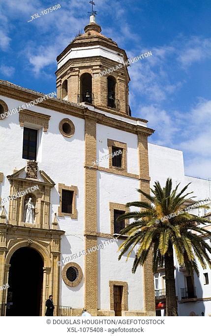 RONDA SPAIN Iglesia de la Merced convent belfry