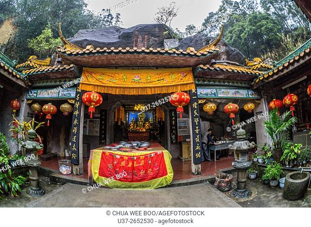 Buddhist temple in Hopoh, China