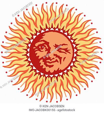 Winking Sun