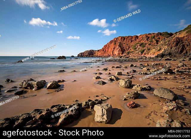 Praia do Amado, Atlantic Ocean, Carrapateira, Costa Vicentina, Algarve, Faro, Portugal