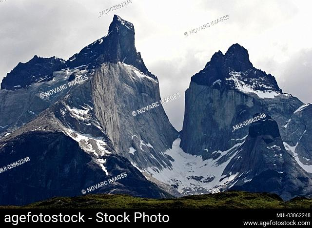 Cuernos del Paine, Torres del Paine National Park, Chile, South America
