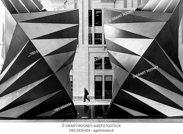 Angel's Wings (Paternoster Vents) by Thomas Heatherwick Studio, Paternoster Square, London, England