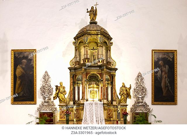 Altar in the Cathedral of Santa Ana, Canary Islands