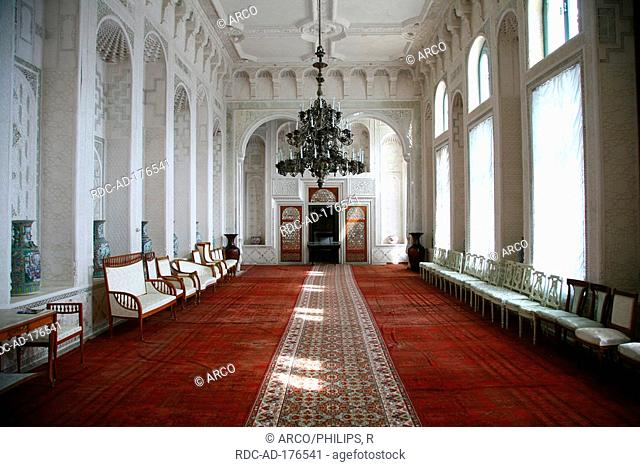 Reception hall, Sitorai Mokhi Khosa, Summer Palace, Bukhara, Uzbekistan