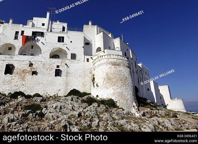 Walled city of Ostuni, Puglia, Italy