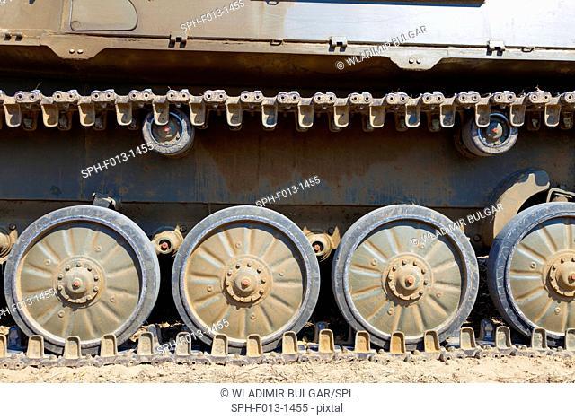 Military equipment from World War II, Jena, Germany