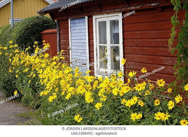 Old house, Mörbylånga, Öland, Sweden